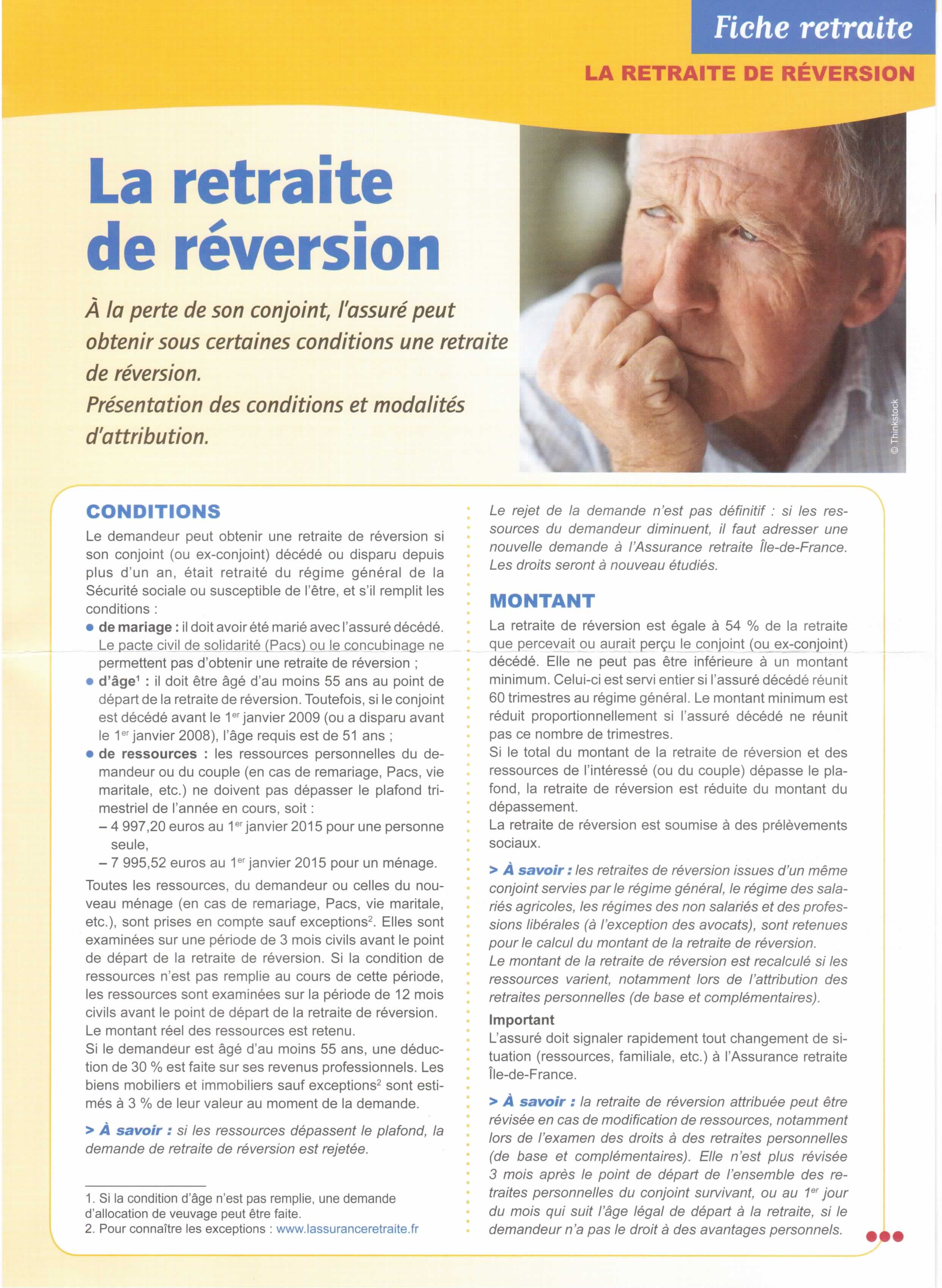 Retraite reversion 01